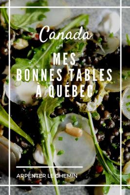 bonnes tables quebec petit-champlain bien manger blog voyage road-trip canada arpenter le chemin