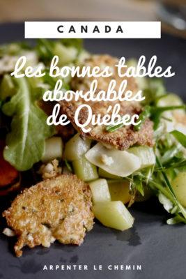 quebec bonnes tables bien manger petit-champlain restaurants bonnes adresses blog voyage canada arpenter le chemin