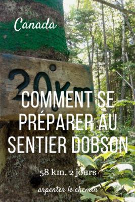 preparation sentier dobson riverview fundy nouveau-brunswick blog voyage road-trip canada arpenter le chemin