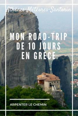 road-trip grece athenes santorin meteores voyage balkans blog arpenter le chemin
