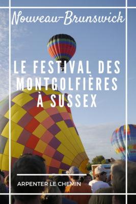 sussex hot balloon extravaganza nouveau-brunswick blog voyage canada arpenter le chemin