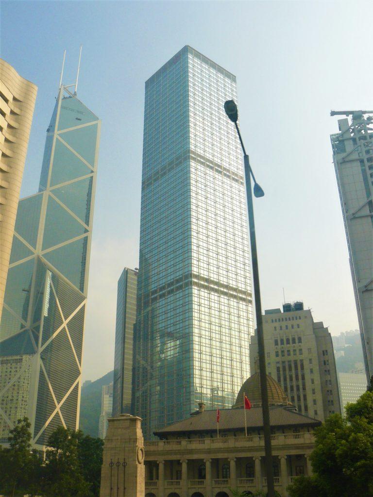 Central Hong Kong gratte-ciel