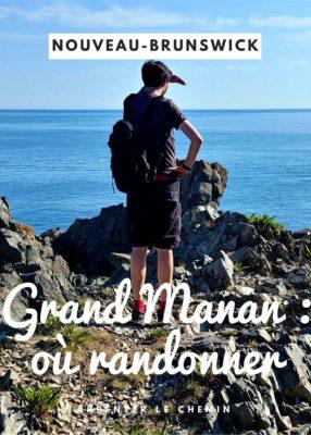 Où randonner sur l'île de Grand Manan, Nouveau-Brunswick