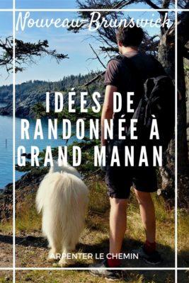 Randonnées à Grand Manan, Nouveau-Brunswick
