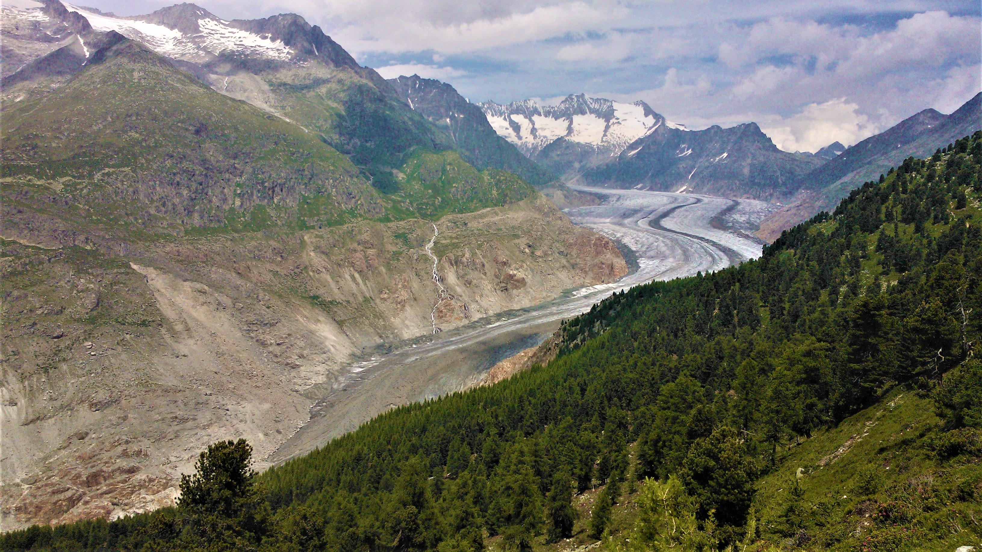 approcher glacier suisse alpes valais