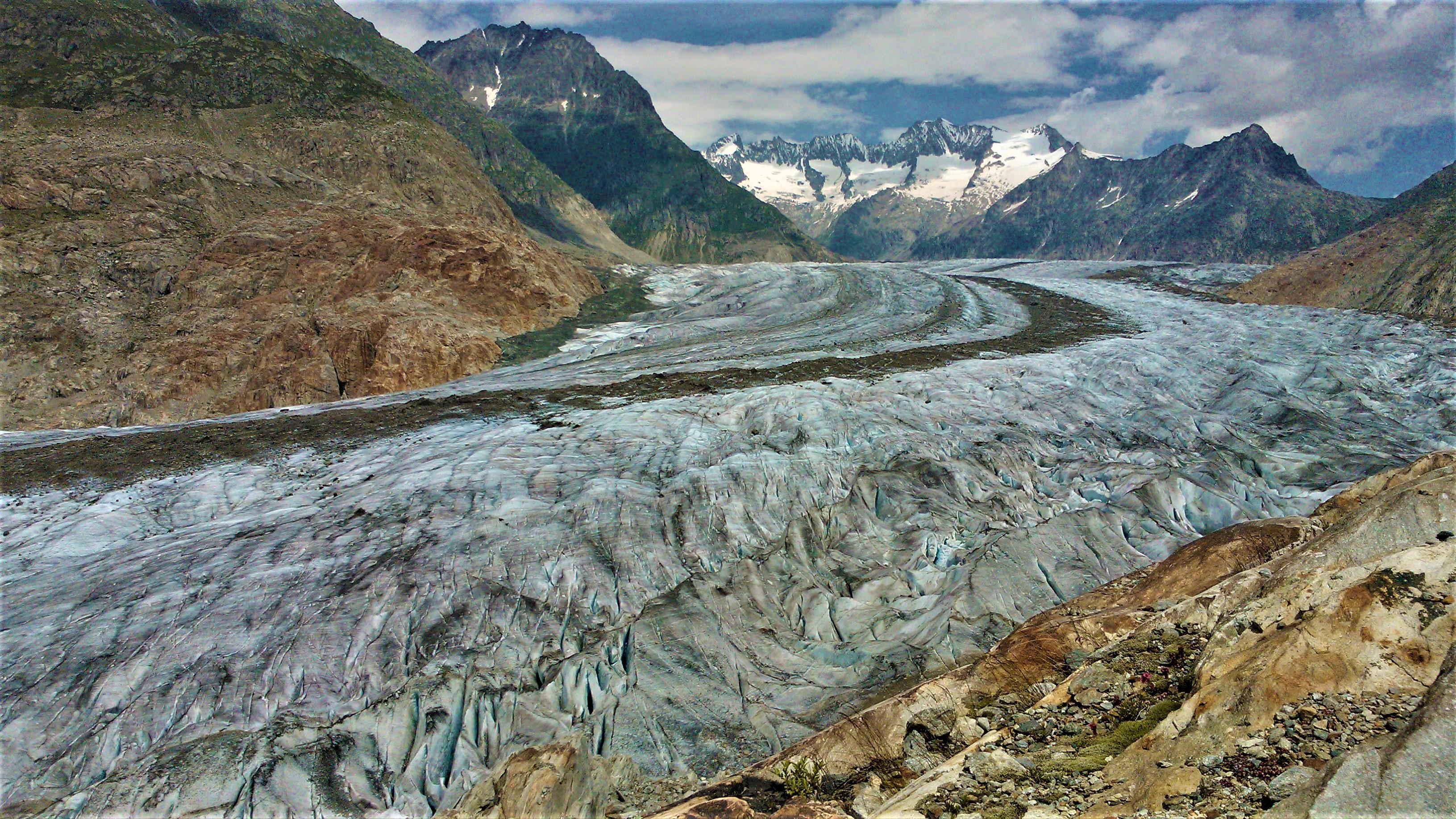 suisse voir glacier aletsch alpes blog voyage europe