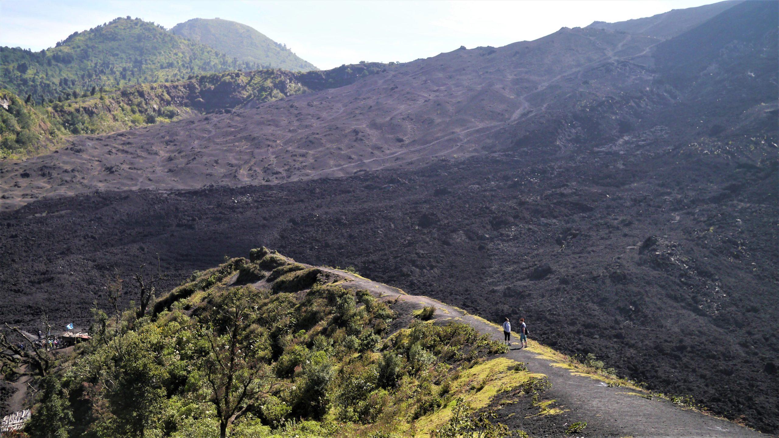 Guatemala volcan Pacaya