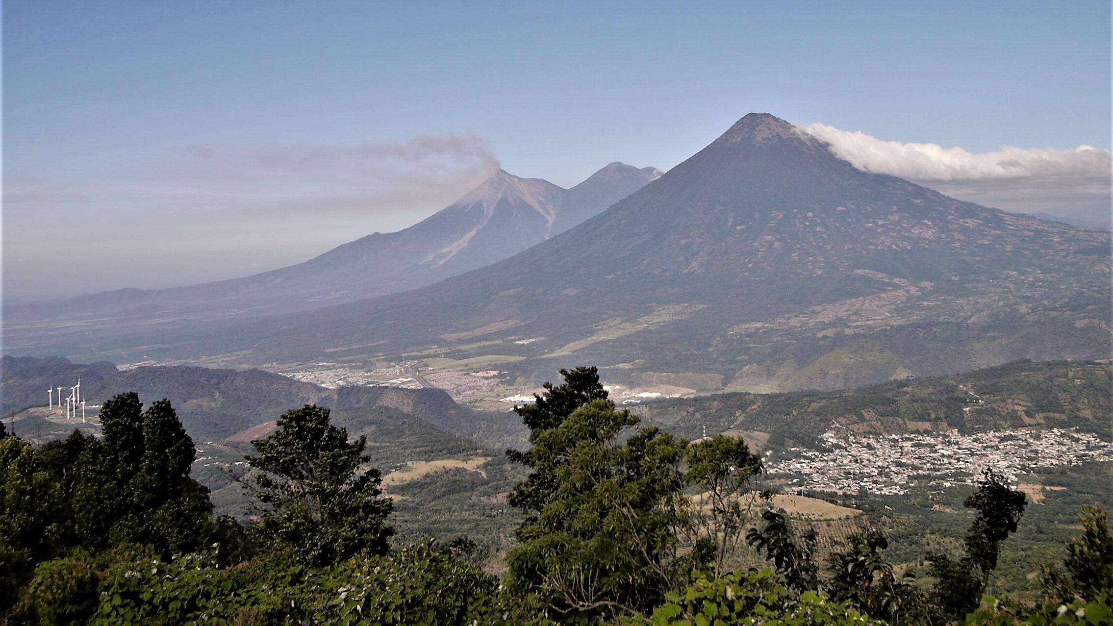 Guatemala voyage volcans ascension Pacaya
