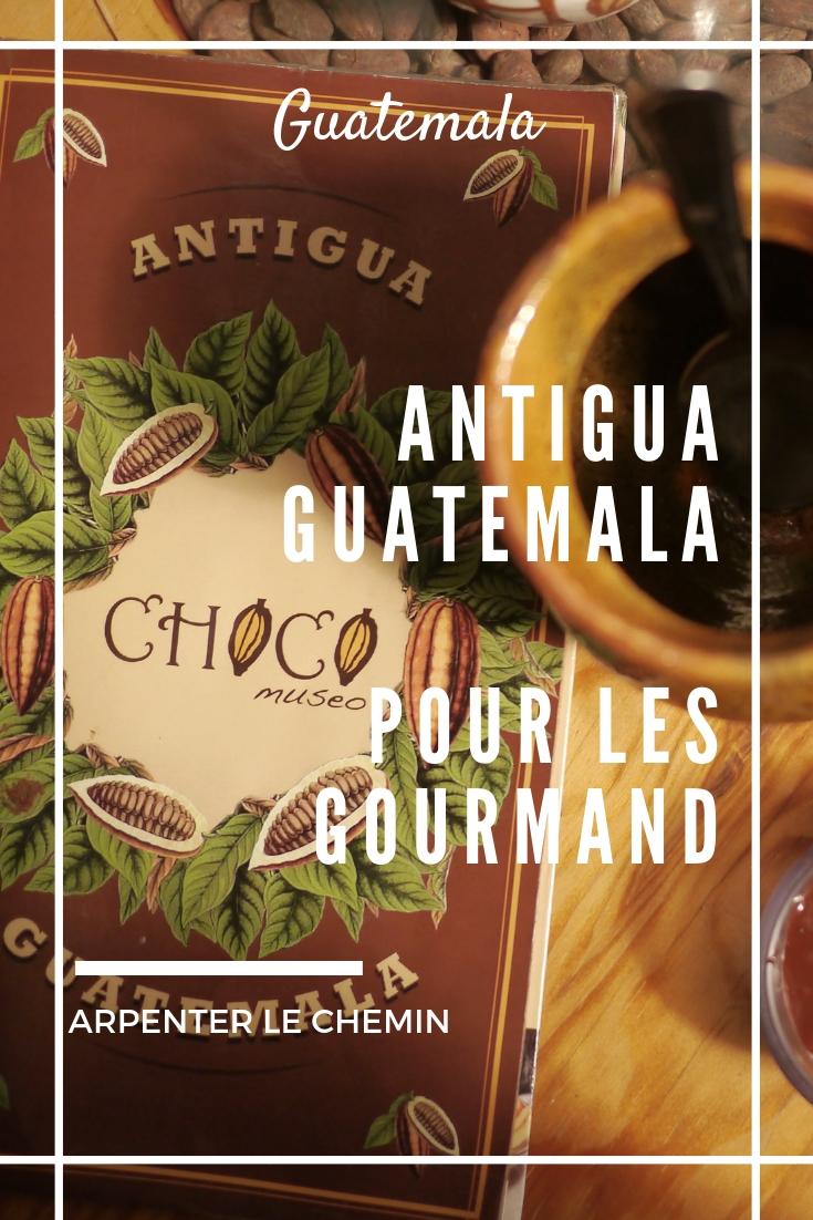 antigua guatemala gourmand blog voyage solo arpenter le chemin