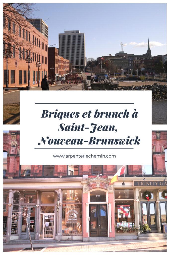 saint-john nouveau-brunswick blog voyage