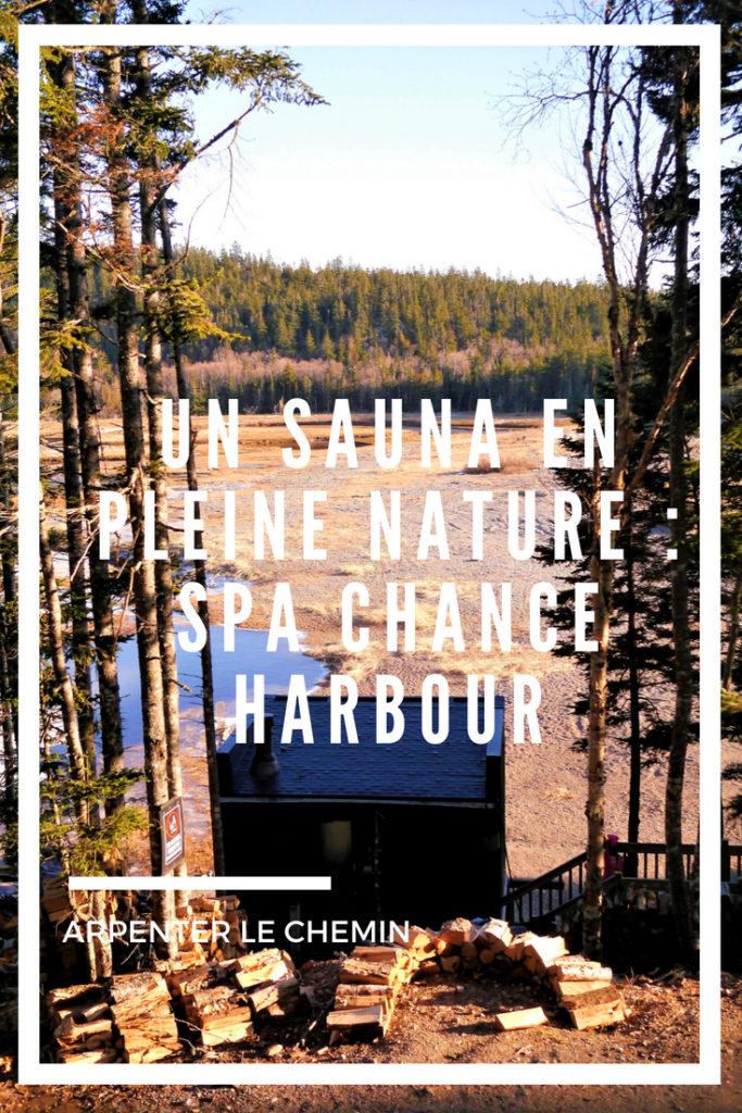 spa chance harbour sauna fundy nouveau-brunswick blog voyage