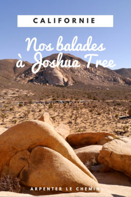 que faire joshua tree randonnee etats-unis usa blog voyage californie arpenter le chemin