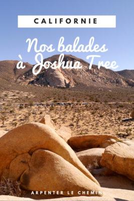 que faire joshua tree randonnee etats-unis usa blog voyage californie arpenter le chemin