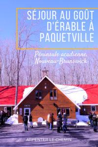 acadie paquetville nouveau-brunswick blog voyage canada