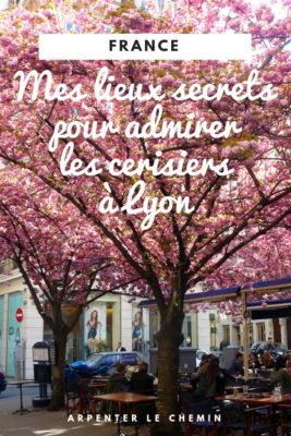 lieux secrets lyon cerisiers sakura france printemps blog voyage arpenter le chemin