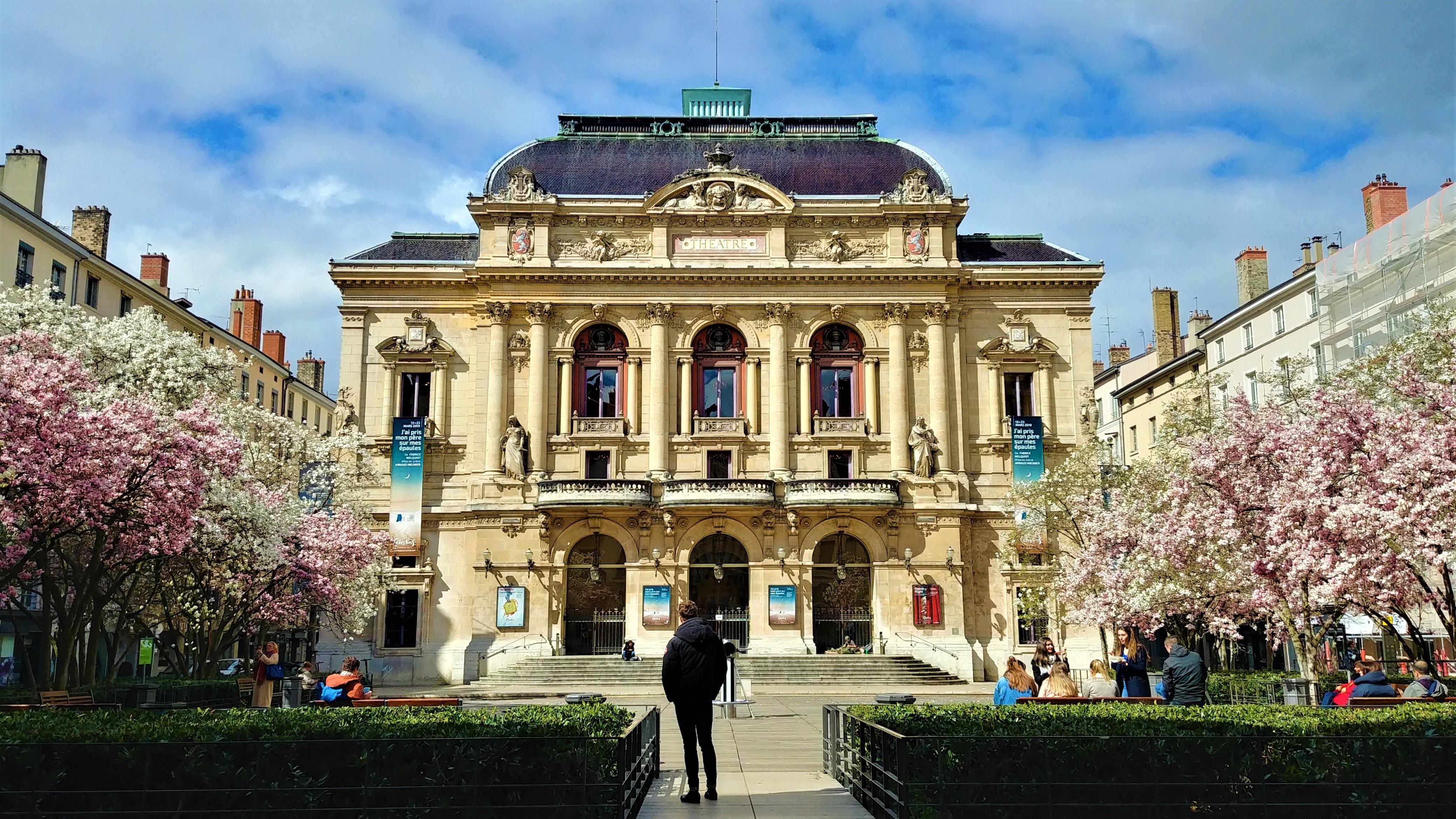 theatre celestins lyon magnolias escapade onlylyon blog voyage france arpenter le chemin