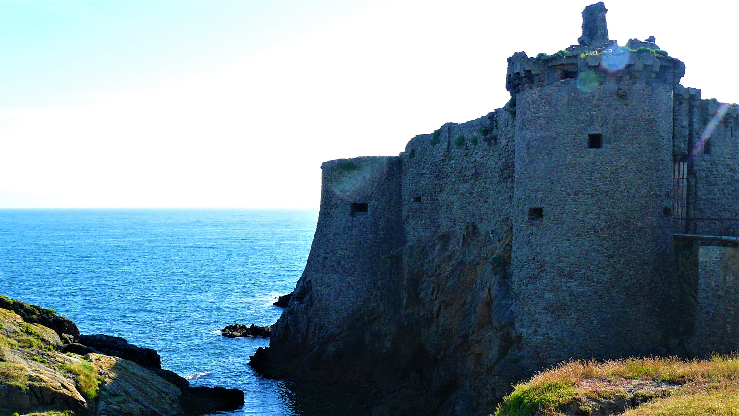 ile d'yeu vieux-chateau ruines que voir week-end blog voyage escapade arpenter le chemin