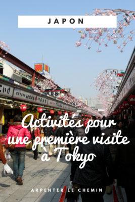 que faire premiere visite tokyo activites temples se deplacer blog voyage japon arpenter le chemin