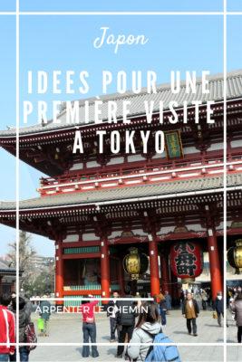 que voir que faire citytrip tokyo itineraire blog voyage japon asie arpenter le chemin