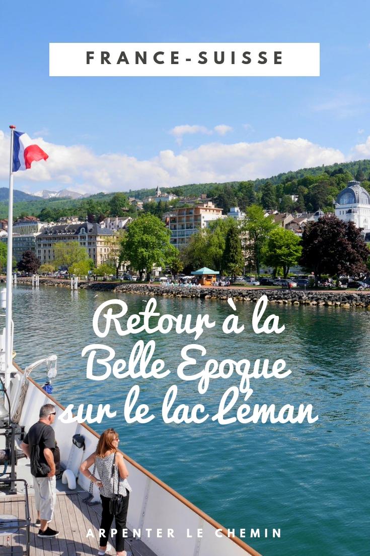 france suisse cgn bateaux belle époque croisiere lac leman lausanne blog voyage arpenter le chemin
