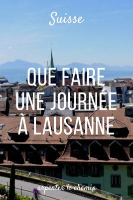 itineraire journee lausanne suisse leman citytrip voyage road-trip arpenter le chemin blog
