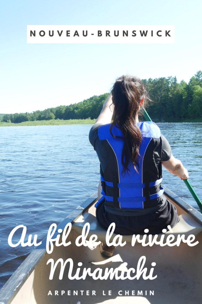 miramichi canot voyage nouveau-brunswick acadie canada