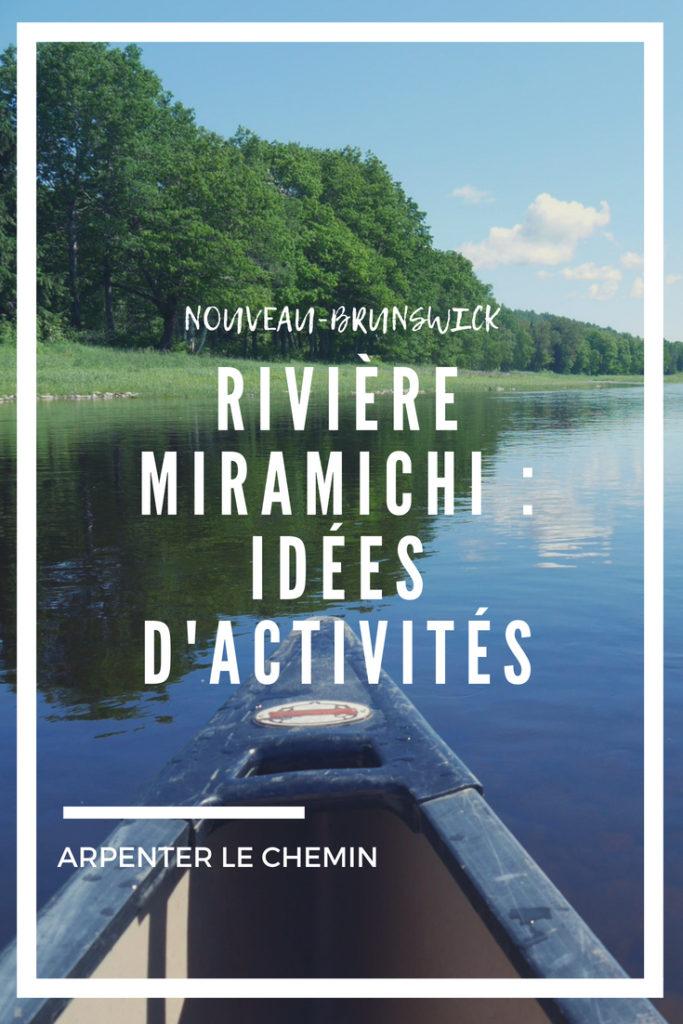 miramichi nouveau-brunswick canada voyage