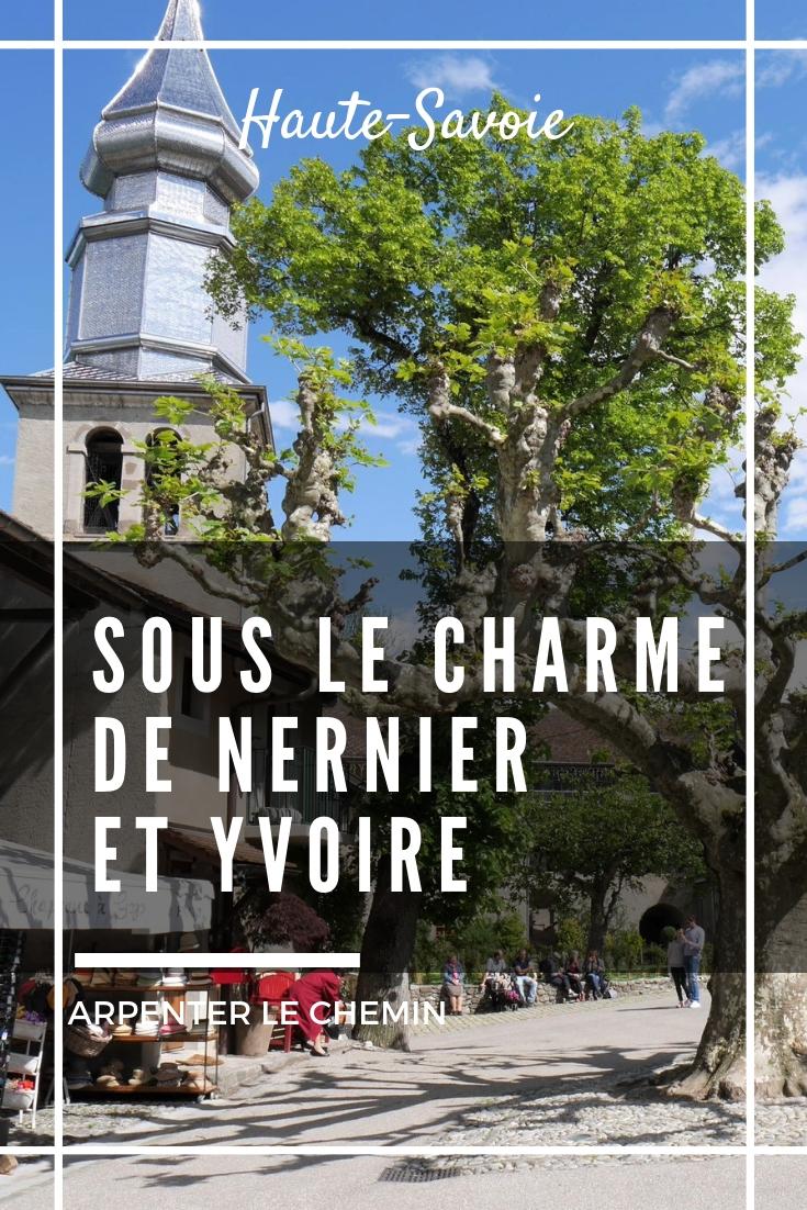 nernier yvoire lac lemain haute-savoie france suisse blog voyage solo au feminin arpenter le chemin