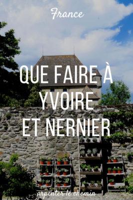 nernier yvoire que voir que faire haute-savoie lac leman blog voyage france arpenter le chemin