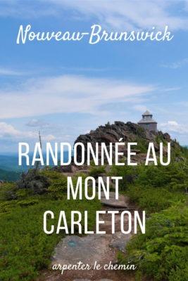 Randonnée au mont Carleton __ Nouveau-Brunswick, Canada