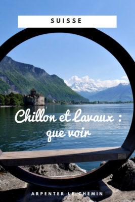 lavaux chillon suisse leman que voir voyage blog road-trip europe alpes arpenter le chemin