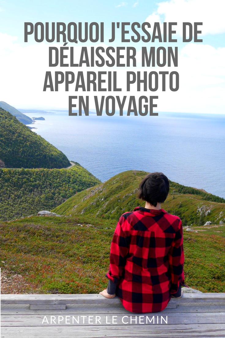 appareil photo blog voyage arpenter le chemin canada