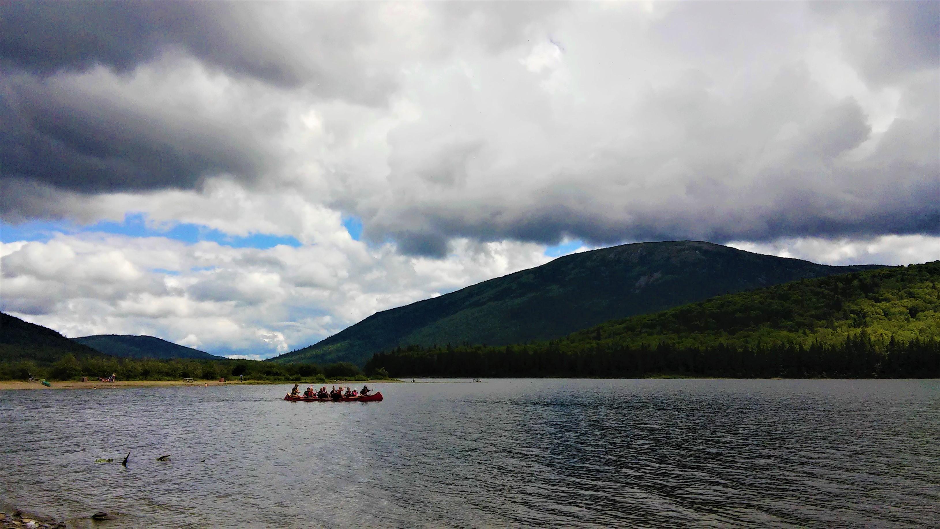 blog voyage arpenter le chemin Restigouche canot aventure canada nouveau-brunswick