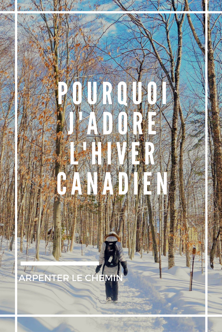 hiver canada quebec froid blog voyage arpenter le chemin