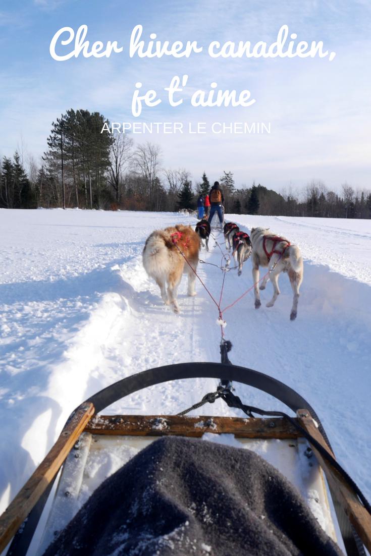 hiver canadien neige quebec magie fetes blog voyage arpenter le chemin
