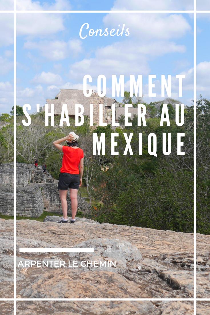 valise mexique voyage blog arpenter le chemin