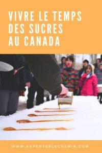 Cabane à sucre érable Canada printemps Arpenter le chemin (1)