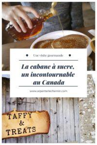 Expérience cabane à sucre érable Canada hiver Arpenter le chemin