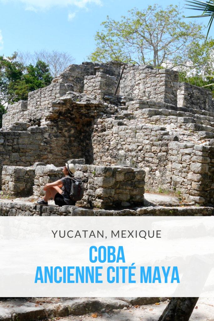 coba yucatan mexique blog voyage arpenter le chemin