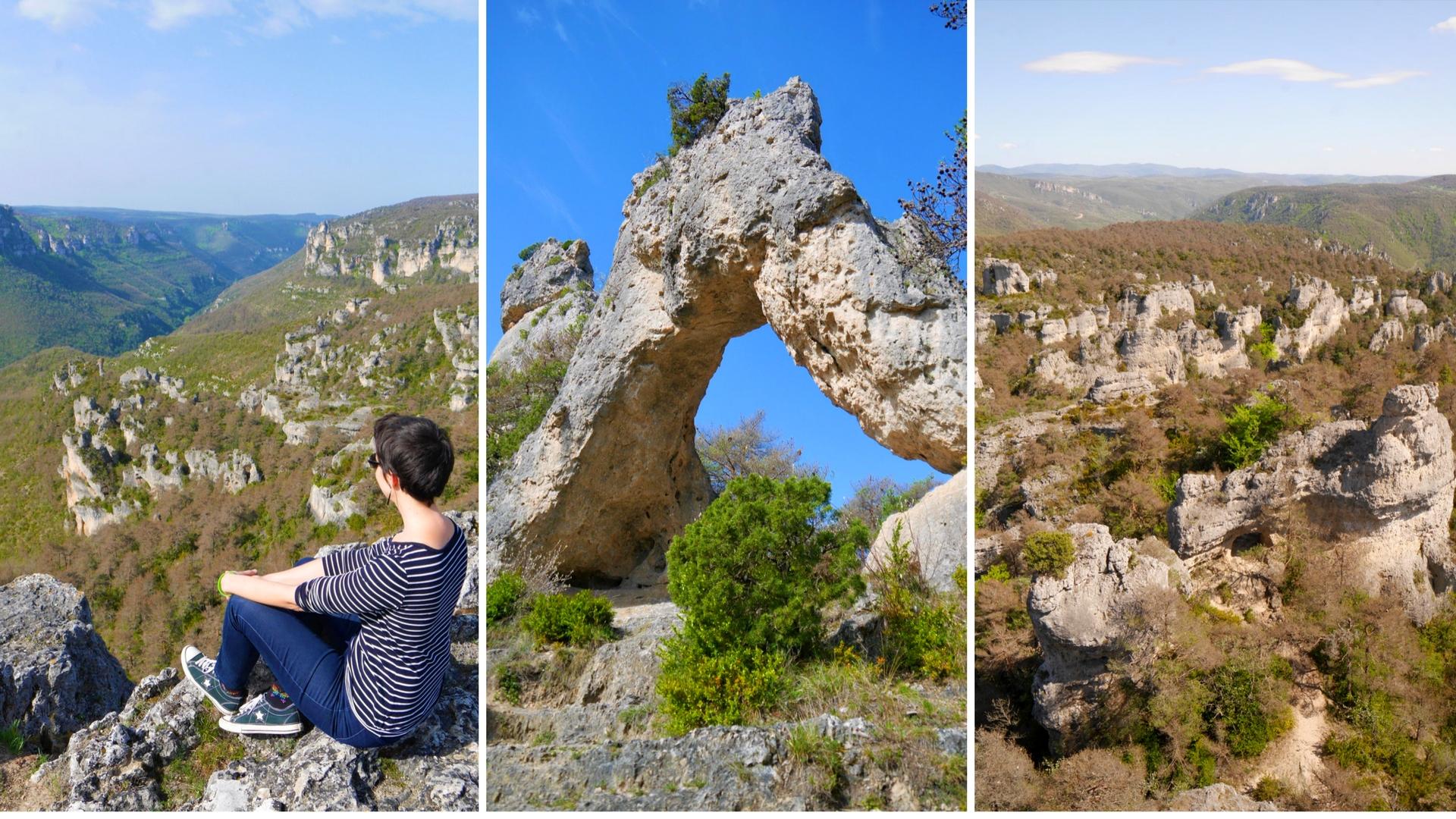 Chaos ruiniforme Montpellier le vieux Millau Aveyron blog voyage Arpenter le chemin