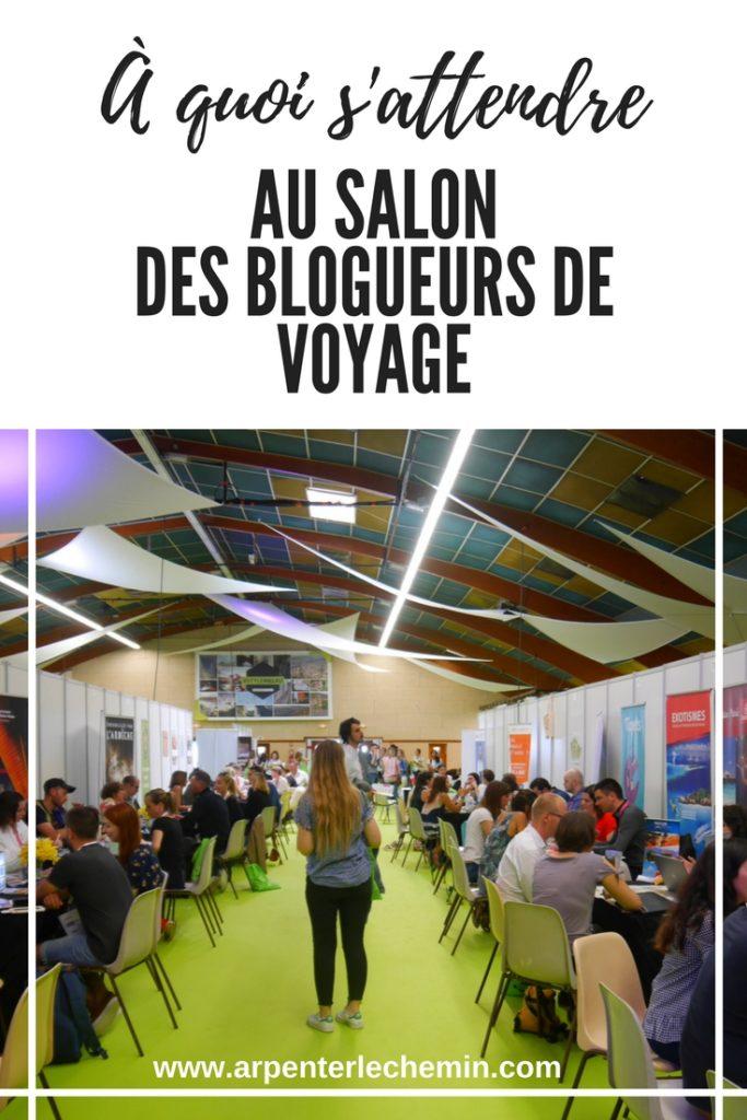 Salon des blogueurs de voyage Pinterest Arpenter le chemin