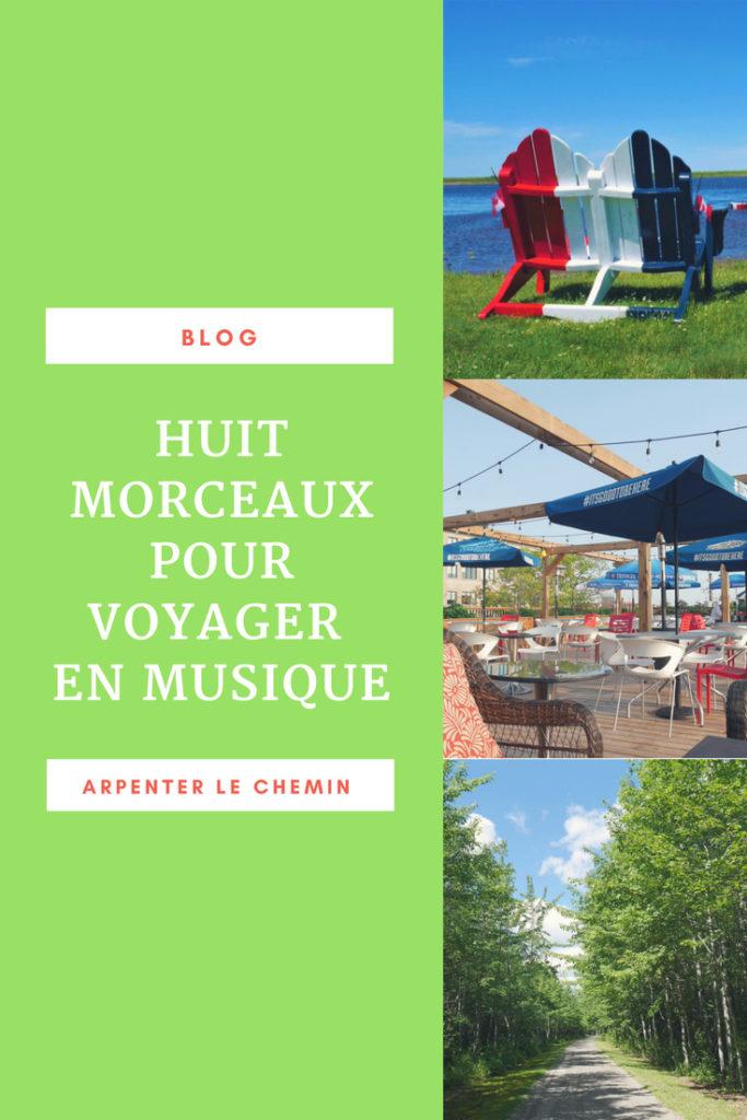CHANSONS MUSIQUE VOYAGER blog