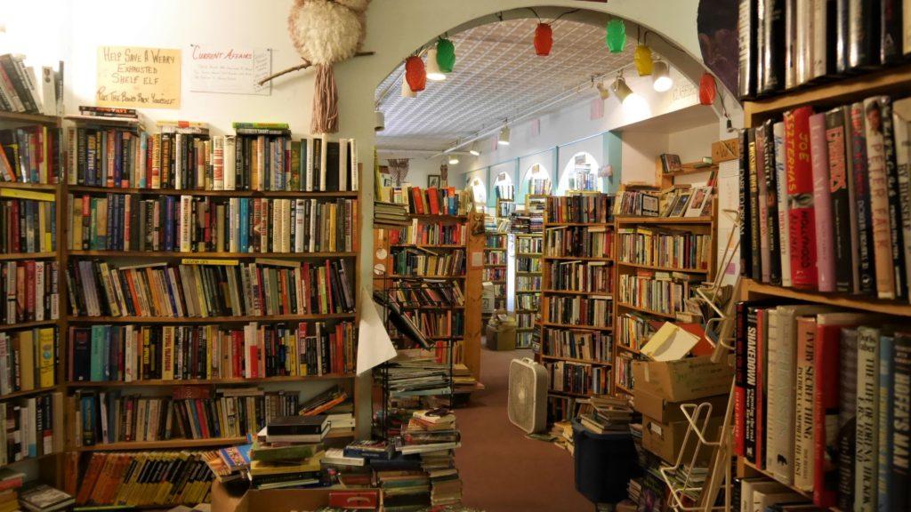 Fredericton Owl's nest bookstore