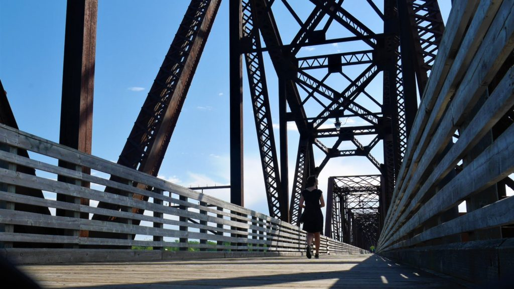 Fredericton Railway bridge visite