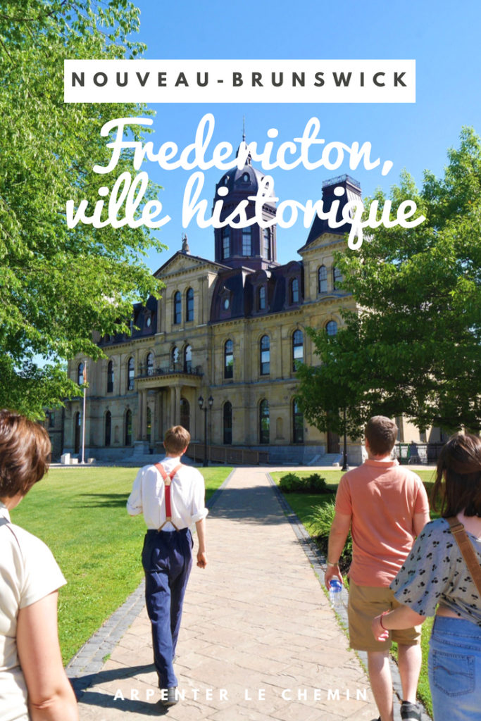 Fredericton voyage nouveau-brunswick canada