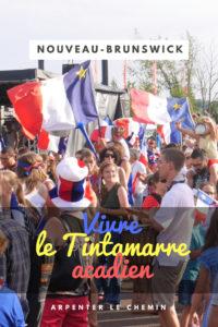 tintamarre acadien acadie nouveau-brunswick caraquet 15 aout canada blog voyage