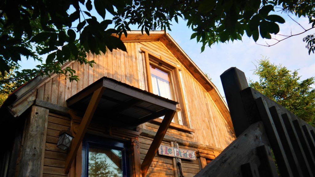 Auberge Griffon Aventures Forillon Gaspe Quebec Arpenter le chemin