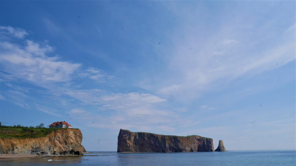 Rocher perce Gaspesie canada