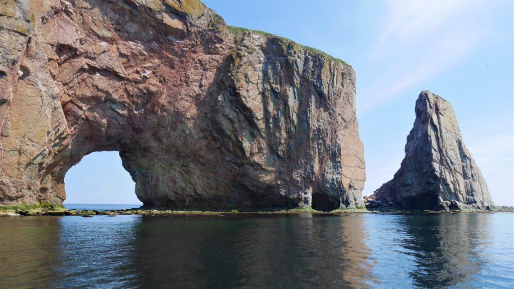 Rocher perce gaspesie baleines croisiere arpenter le chemin