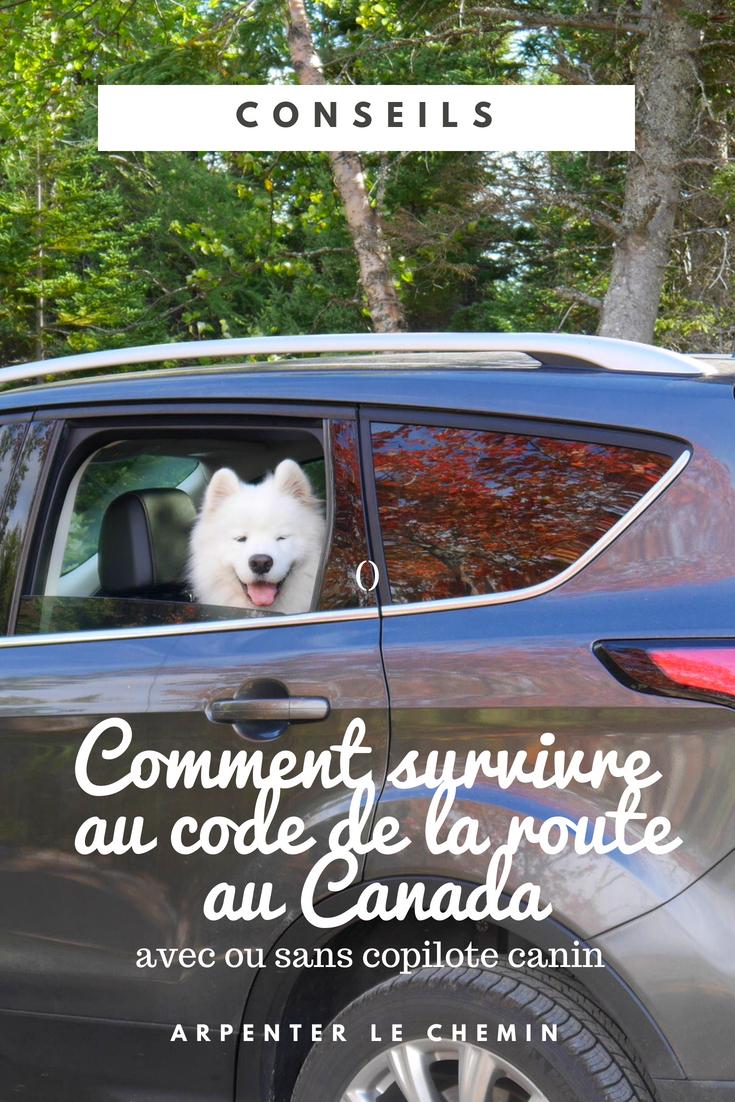 conduire au canada code de la route voyage blog arpenter le chemin canada roadtrip